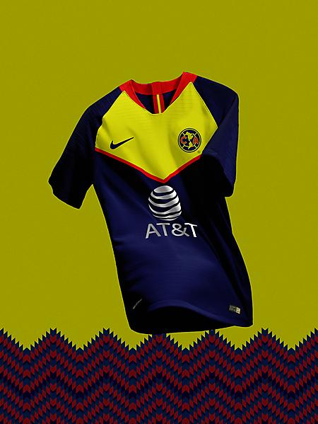 Club America Away Concept Kit