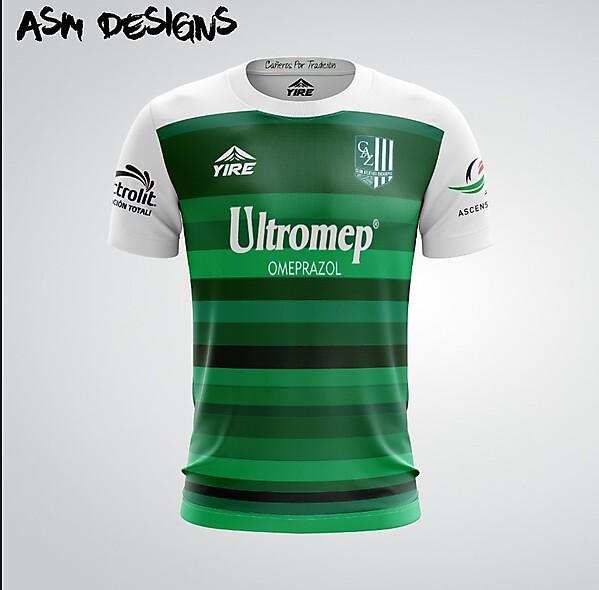 Club Atletico Zacatepec Yire 2018 Home Kit