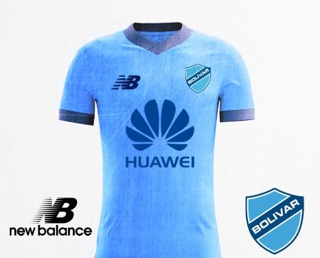 Club Bolivar Home kit New Balance