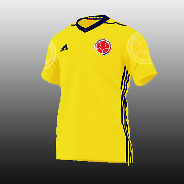 7a1be65dd Colombia Football Kits Home 2017