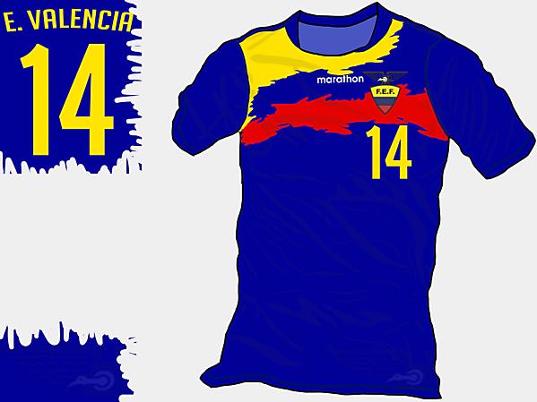 Copa America 2015 - Grupo A - Ecuador Away