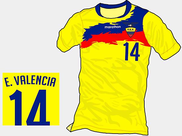 Copa America 2015 - Grupo A - Ecuador Home