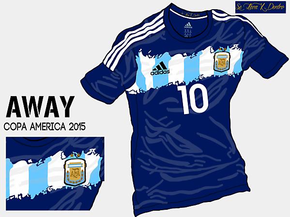 Copa America 2015 - Grupo B - Argentina Away