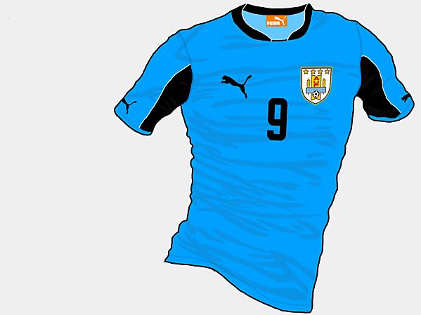 Copa America 2015 - Grupo B - Uruguay Home
