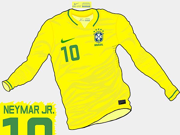 Copa America 2015 - Grupo C - Brazil Home