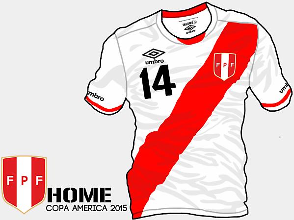 Copa America 2015 - Grupo C - Peru Home