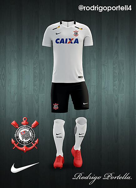 Corinthians 2016-17 home kit