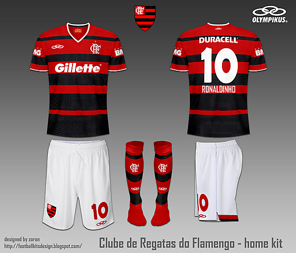 C.R. Flamengo fantasy home and away