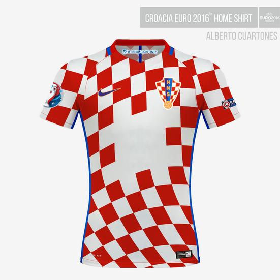 Croatia UEFA EURO 2016™ Home Shirt