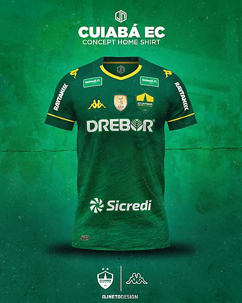 Cuiabá EC | concept home shirt | @jnetodesign