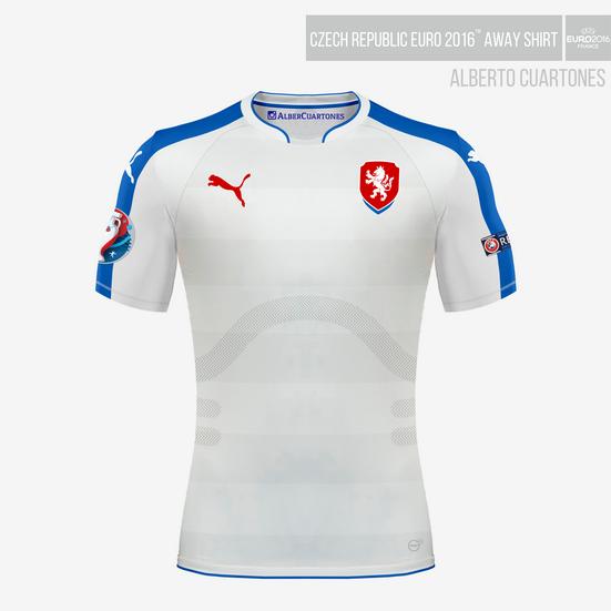Czech Republic UEFA EURO 2016™ Away Shirt