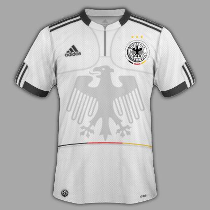 Deutschland Home, Away and Special third