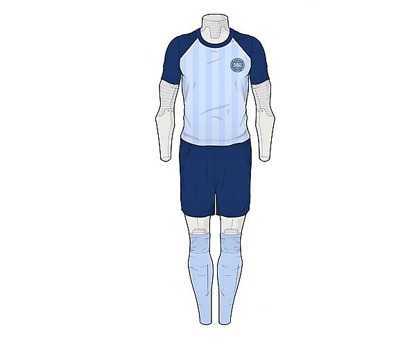 Denmark Away 84-86 Concept