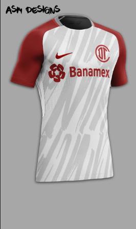 Deportivo Toluca F.C. Nike 2018 Away Kit