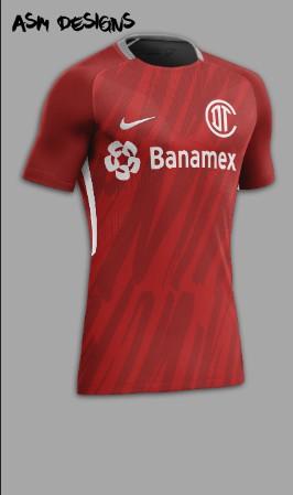 Deportivo Toluca F.C. Nike 2018 Home Kit
