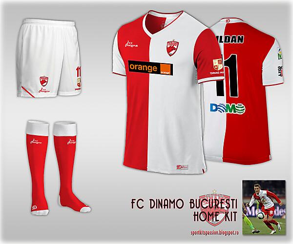 Dinamo Bucuresti fantasy kit.