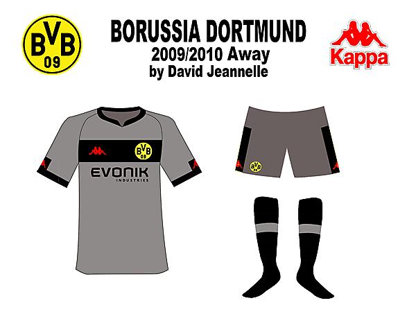 Dortmund 09/10 Mock-up designs