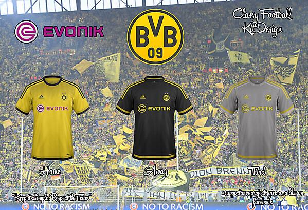 Dortmund Adidas Concept 15/16