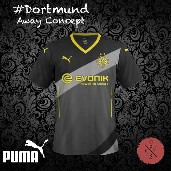 Dortmund Away Puma Concept