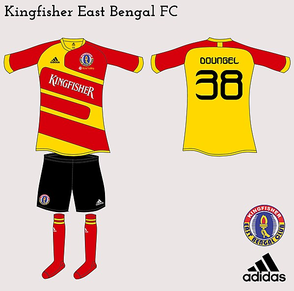 Kingfisher East Bengal FC Adidas Fantasy Home
