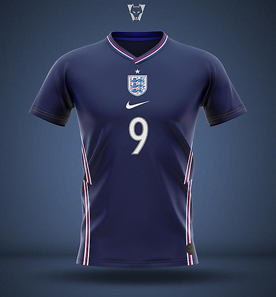 England 2020 away concept