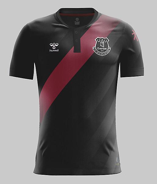 Everton Away 20/21