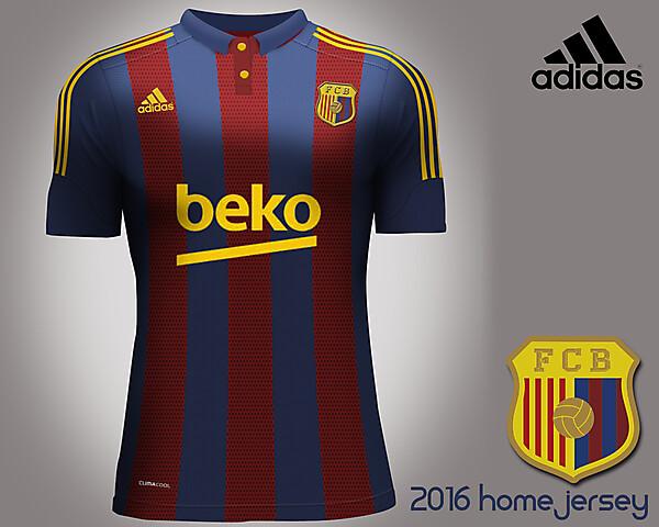 FC Barcelona 2016 by adidas
