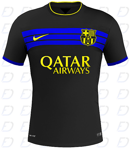 FC Barcelona Away kit