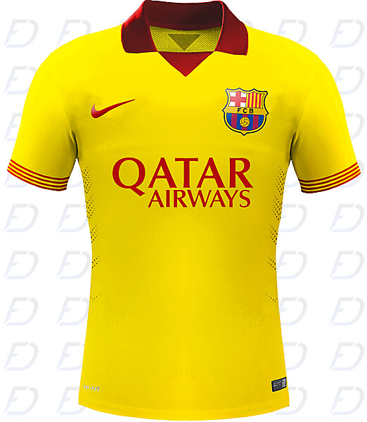 FC Barcelona third kit