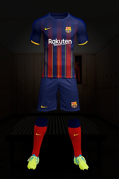 Fc Barcelone kit Home