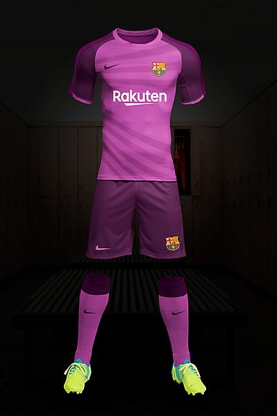 Fc Barcelone kit Third