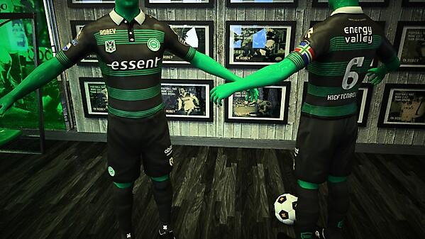FC Groningen Away Robey Kit 2015 / 2016