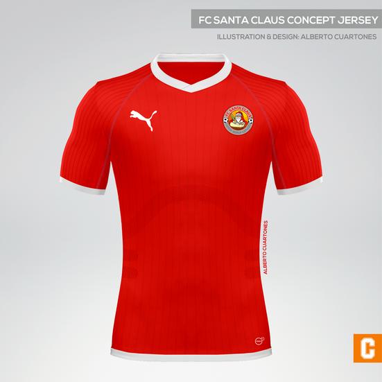 FC Santa Claus 2017 Concept Jersey