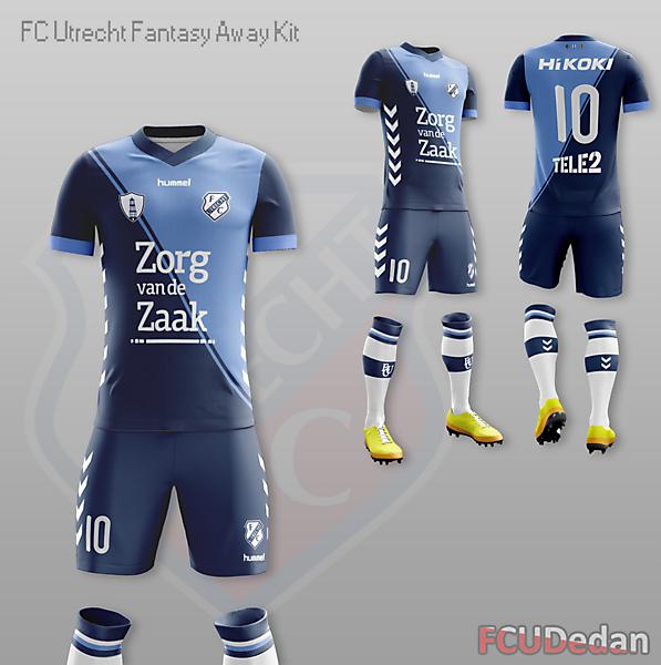 FC Utrecht Fantasy Away Kit Design