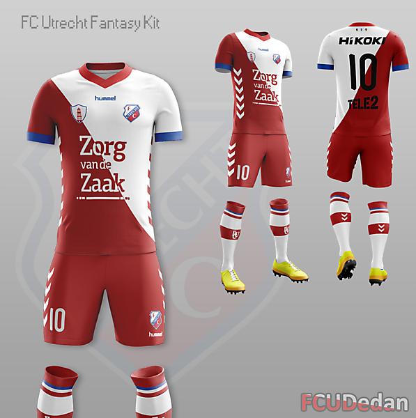 FC Utrecht Fantasy Home Kit Design