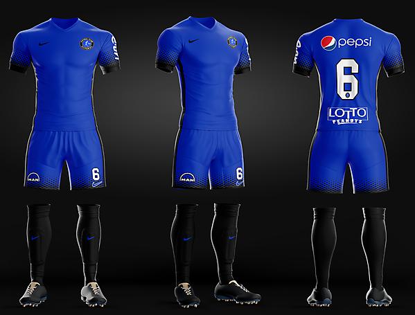 FC Viitorul - Home kit recreated