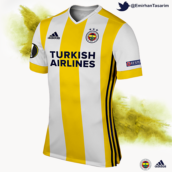Fenerbahçe 16/17 Away Kit Design