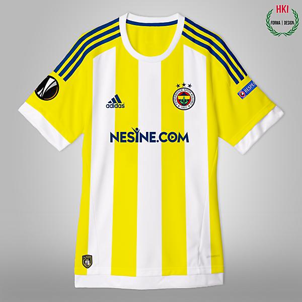 Fenerbahçe x Adidas Concept Away Kit