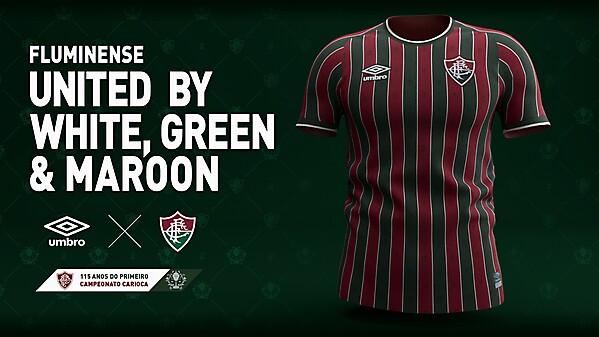 Fluminense Umbro 2021 / Concept Kit