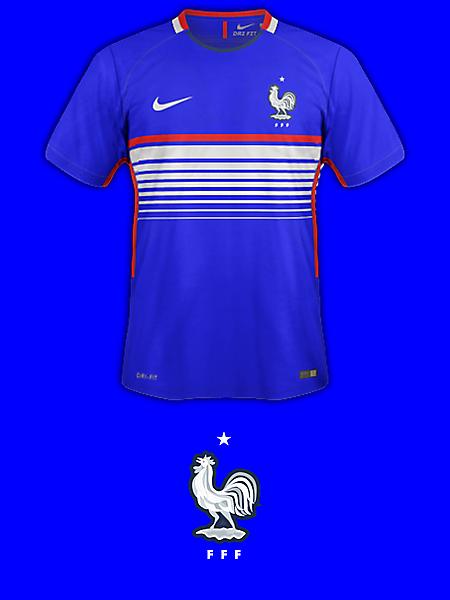 France Home Fantasy Kit