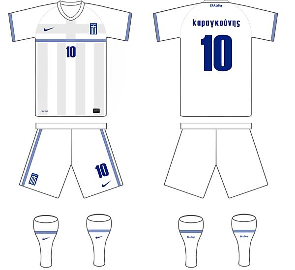 Greece Away Kit