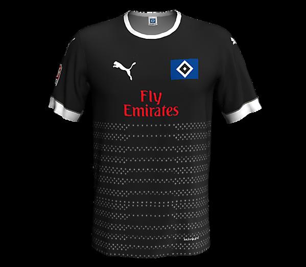 Hamburger SV away kit