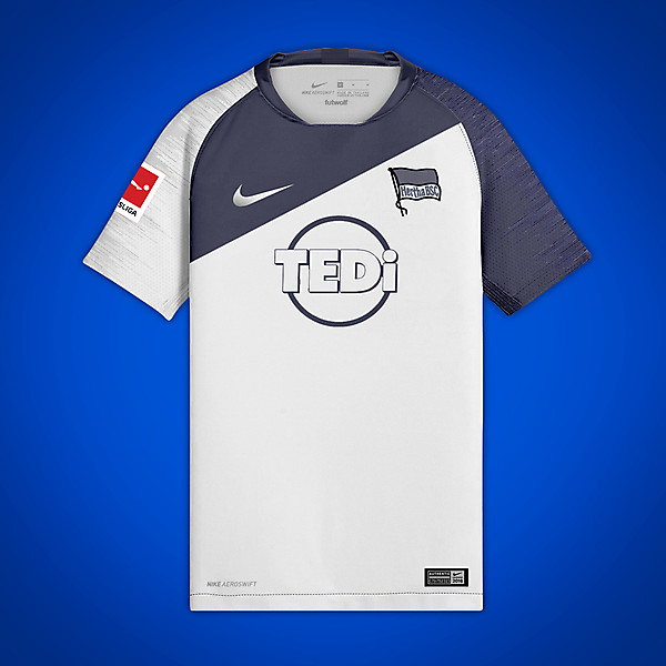 Hertha Berlin 2019-20 Away Concept