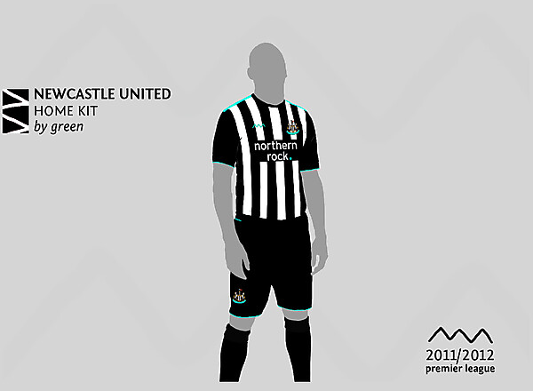 Newcastle home by green
