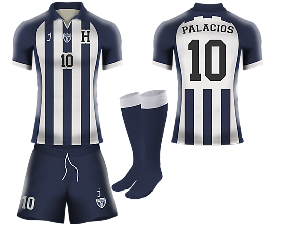 Honduras away kit by J-sports