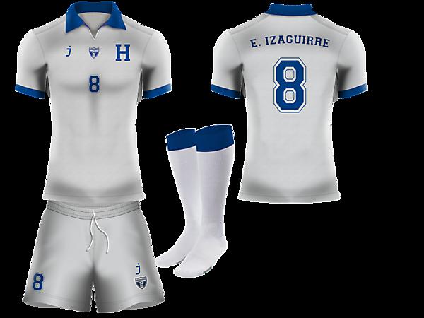 Honduras home kit by J-sports