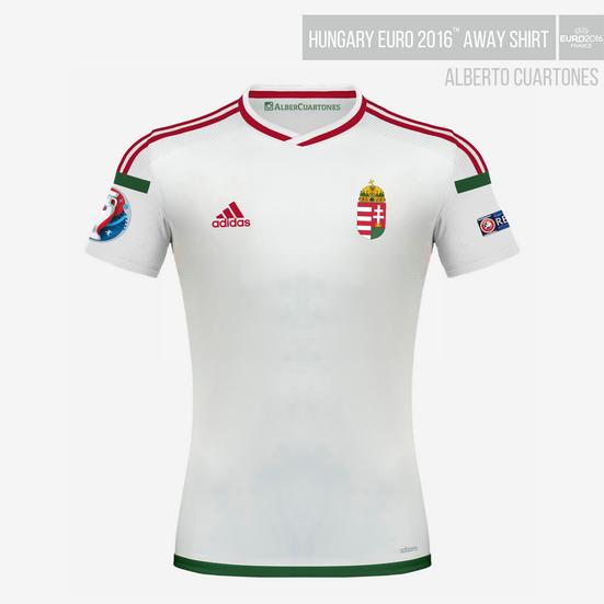 Hungary UEFA EURO 2016™ Away Shirt Final