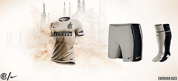 Inter 15/16 Away Kit Design
