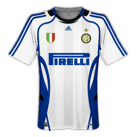 Inter. Milan Home, Away and Third