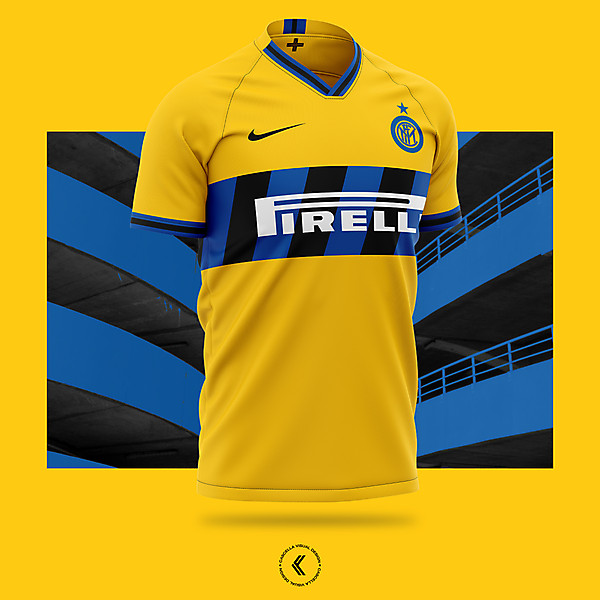 Inter Milan Away 2019/20 Concept